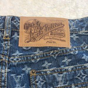 Louis Vuitton Shorts - Louis Vuitton Denim Capri